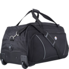 American Tourister Vision Duffle With Wheel Black 67 cm 1 pc