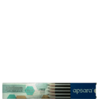 Apsara Platinum Extra Dark Pencils Pack of 10 Nos 1 Pc