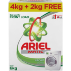 Ariel Matic Detergent Powder Front Load 4 Kg