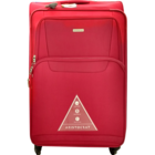 Aristocrat Amber 4 Wheel Exp Blue Soft Luggage Strolley 79 cm 1 pc