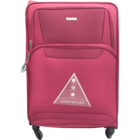 Aristocrat Amber 4 Wheel Exp Red Soft Luggage Strolley 79 cm 1 pc