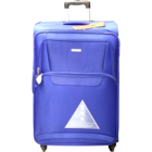 Aristocrat Amber 4W Exp Blue Soft Luggage Strolley 58 cm 1 pc