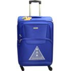 Aristocrat Amber 4W Exp Blue Soft Luggage Strolley 69 cm 1 pc