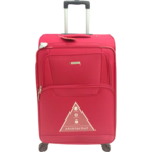 Aristocrat Amber 4W Exp Red Soft Luggage Strolley 69 cm 1 pc