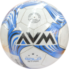 AVM Sports Foot Ball Gold Star Size 5 Shrinkwrap 1 pc