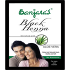 Banjaras Black Henna Enriched With Aloe Vera 5 X 10 g