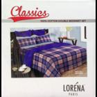 Bianca Castilo 100% Cotton Double Bed Sheet 88 x 96 cm 110 1 pc