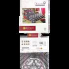 Bianca S16 Chantal Double Bed Sheet 210 2.25 Mtr x 2.7 Mtr 1 pc