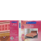 Bombay Dyeing Cotton Double  Bedsheet Axia Assorted 220 x 240 cm 1 pc