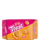 Britannia Treat Orange Cream Biscuit 145 g