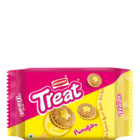 Britannia Treat Pineapple Cream Biscuit 145 g