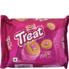 Britannia Treat Strawberry Cream Biscuit 145 g