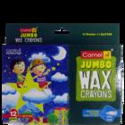 Camel Jumbo Wax Crayons Round 96 mm X 11 mm 12 Nos