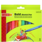 Camlin Bold Sketch Pen Set of 12 Shades 1 pc