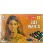 Camlin Soft Pastels 20 Shades 1 Pc