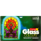 Camlin Solvent Based Glass Colours with Liner 5 Shades 20 ml