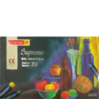 Camlin Supreme Oil Pastel 25 Shades 1 pc