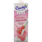 Cavins Strawberry Milk Shake 1 l