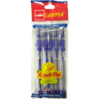 Cello Gripper 1 Ball Pen Blue 5 Pc