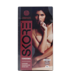 Skore Chocolate Flavoured Dotted & Coloured Condoms 10 Nos