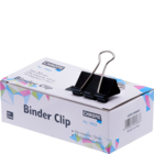 Chrome Binder Clip Black 32 mm 9963 Set Of 12 pcs 1 pc