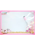 Chrome Kiddy White Board 9801 1 pc