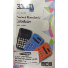 Chrome Pocket Calculator 1 pc