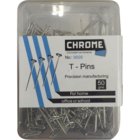 Chrome T pin 50 g