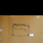 Chrome White Board 2X3 (Magnetic) 9816 1 pc