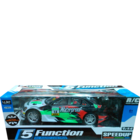Classic Themes Remote Control 4 Function Model Car with Charger 1 pc