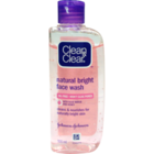 Clean & Clear Natural Bright Face Wash Pet Bottle 100 ml