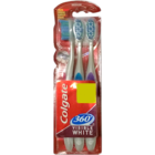 Colgate 360 Visible White Toothbrush 2 pc