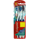 Colgate 360 Whole Mouth Clean Toothbrush 2 pcs