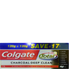Colgate Total Charcoal Toothpaste 2 X 140 g