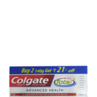 Colgate Total Advanced Health Clean Mint Toothpaste 2 X 140 g