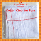 Om Bhakti Cotton Cloth For Puja 1 Nos