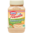 Fun Foods Cucumber n Carrot Eggless Sandwich Spread 300 g