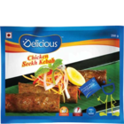 Elicious Seekh Kebab Fry & Serve Chicken 500 g