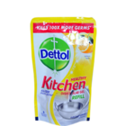 Dettol Lemon Kitchen Dish & Slab Gel Pouch 130 ml