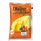 Dhara Fit N Fine Refined Soyabean Oil Pouch 1 Ltr