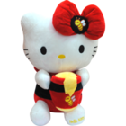 Dimpy Hello Kitty With Acce.Pvc Pk 36 Cm 1 pc