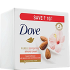 Dove Almonds Cream Soap 3x100 g