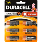 Duracell AAA Battery 6 pc