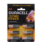 Duracell Alkaline Battery AA Pack of 6 Nos 1 pc