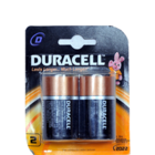 Duracell 1.5 V Alkaline D Battery 2 pc