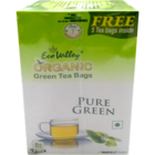 Eco Valley Organic Green Pure Green Tea Bags 25 Nos