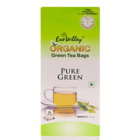 Eco Valley Organic Green Pure Green Tea Bags 50 Nos