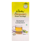 Eco Valley Organic Green Sunny Lemony Bags 50 Nos