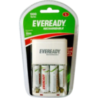 Eveready Combo Charger AA+AAA BP4C 1 Pc