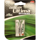 Eveready Rechargeable Battery 2100 AA BP2 2 pc